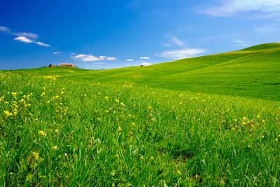 Тоскана, Долина Орча, весна Тоскана Орча Италия