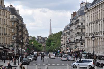 Вид на Tour Eiffel
