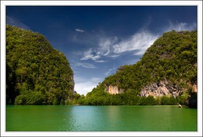 там рыбки не поют... Hong island краби тайланд море лагуна горы