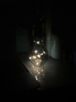 Ночь Ночь лампочка свет