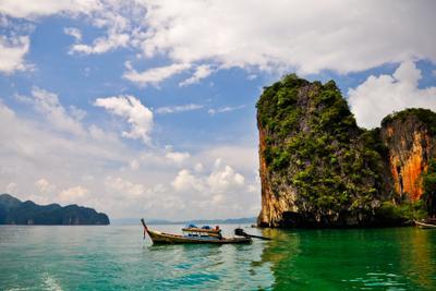 Где-то в Андаманском море андаманское море, лодка, острова, путешествия