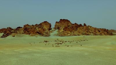 Лунный пейзаж Тенерифе вулкан Тенерифе горы