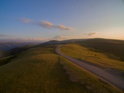 Sunset road.