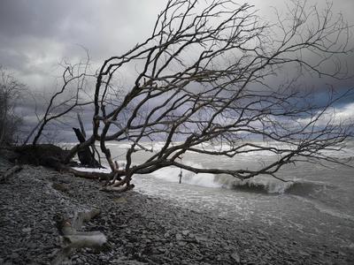 Жизнь на Заливе или Осенний шторм Финский залив.Ида Вирума.Эстония