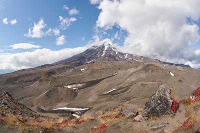 Вулкан Корякский (3456 м) Камчатка Вулкан Корякский Фишай Fisheye SAL16F28