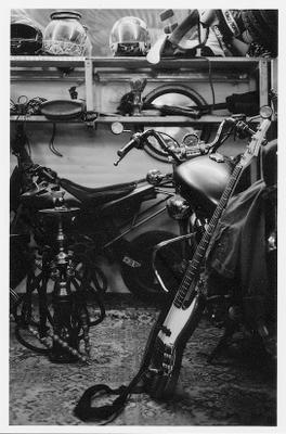 гараж барабаноцикл
