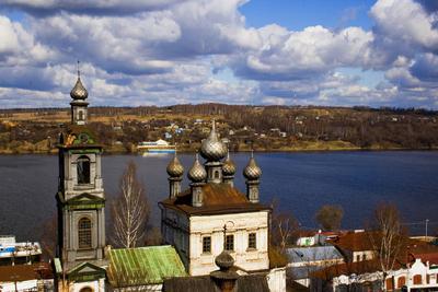 Сказочная весна Плес, Волга, апрель