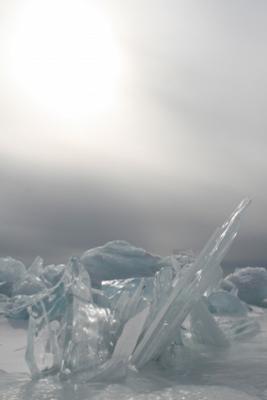 Взрыв.. лед небо