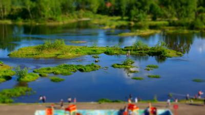 Миниатюрное лето Лето Енисей миниатюра
