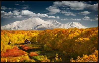 Камчатская палитра Камчатка вулкан осень