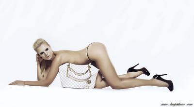 Louis Vuitton louis vuitton, nude, blonde, woman