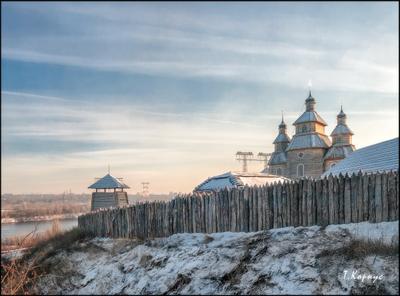 Запорожская сечь музей заповедник Запорожская сечь зима