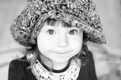 булочка дети ребенок девочка портрет