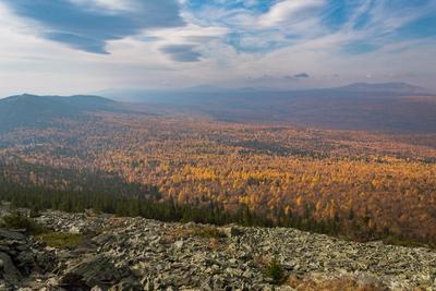 Золотая осень на Урале. осень урал природа горы