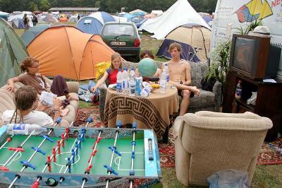 luxury campining