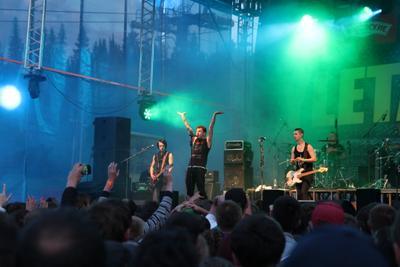 Тараканы! тараканы рок фестиваль улетай нечкино сцена