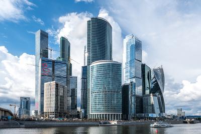 Moscow city Москва сити красивый вид