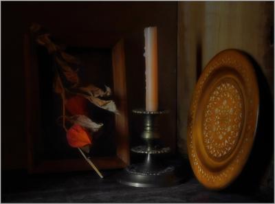 .... В тихом уголке ..... предметы свет идея гармония композиция