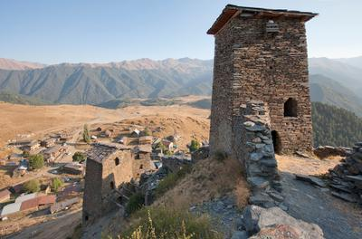 Georgian towers Omalo