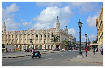 """Gran Teatro de La Habana """"Alicia Alonso"""" cuba la habana vieja libre isla bonita cubanos"""