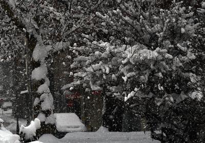 ... снег