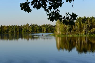 утро рыбака пейзаж природа погода весна закат свет путешествия лето