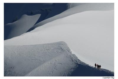 Снежные дюны Aiguille Du Midi