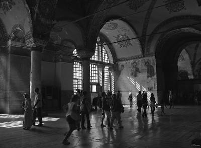 Некуда спешить Стамбул, Софийский собор, Турция, Istanbul, Aya Sofia, Turkey