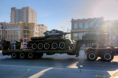 День Победы! Легендарный танк Т-34
