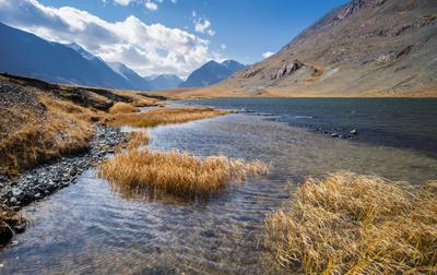 Черное озеро Алтай осень 2019 озеро