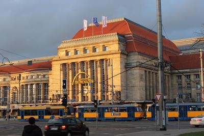 Ж/Д вокзал, Лейпциг