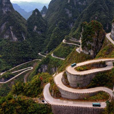 Дорогами Поднебесной (Китай как Китай) Чжанцзяцзе Тяньмэнь