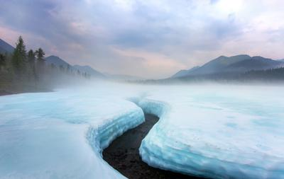 Июльские льды