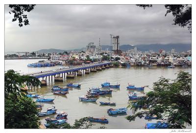 Река Кай в Нячанге вьетнам нячанг кай