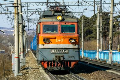 ВЛ80Р-1838 railway железная дорога locomotive локомотив электровоз поезд train Russia Siberia Irkutsk Россия Сибирь Иркутск споттинг spotting