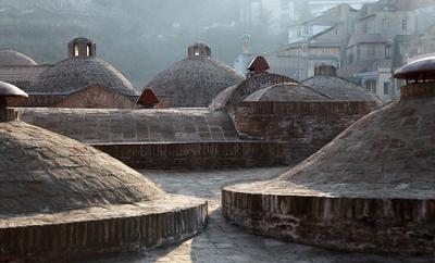 ***Турецкие бани. Тбилиси. Абанотубани*** город турецкие бани архитектура история