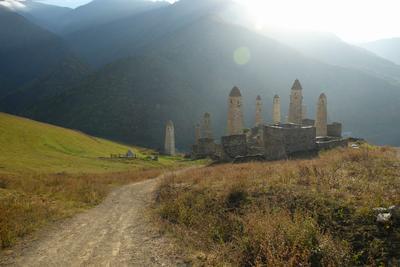 Башенный комплекс Эрзи в Ингушетии каваз ингушетия сторожевые башни