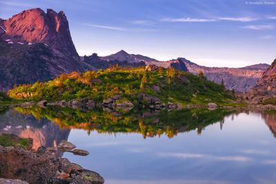 Озеро Горных Духов Ергаки горы пейзаж природа beautiful landschaften Travel