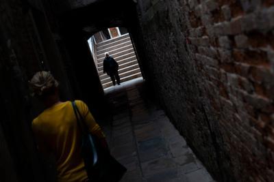 Встреча Улица венеция италия