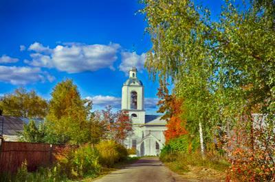 Церковь Успения Пресвятой Богородицы в Наволоках