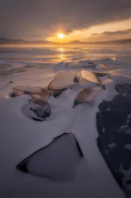Ветры Байкала Россия Сибирь Байкал пейзаж пейзажироссии природа путешествия лед закат зима мороз Russia Siberia Baikal landscape island nature travel lake ice winter frozen