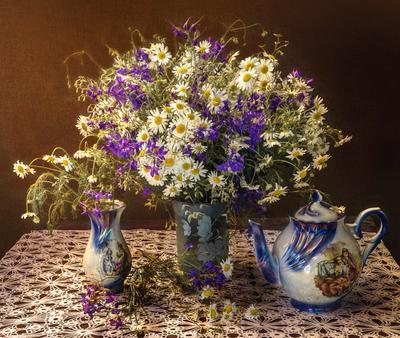 ***Полевые цветы