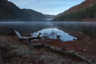 Морозное утро в Двуозерье ирландия рассвет фототур глендалох