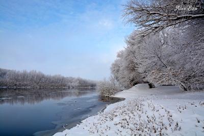 зимний берег