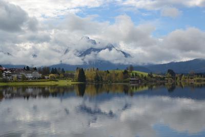 Альпы Альпы Германия Бавария