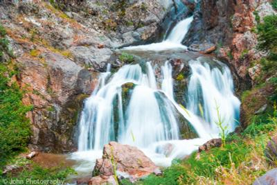 Акчинский Водопад водопад Ташкент Узбекистан горы природа пейзаж