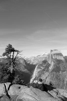 *** Yosemite National Park California USA Clouds Snow Mountains облака снег горы