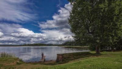 День у озера