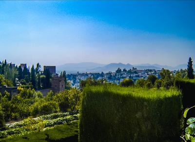 Вид на горы, Испания (16.06.2005)