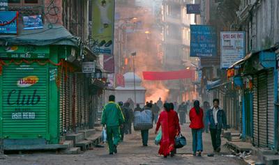 Еще одно утро в Катманду